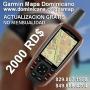 Garmin Republica Dominicana, GPS mapa dominicano