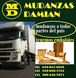 Mudanzas y servicios tel- 849 943 4040