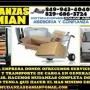 MUDANZAS Y TRANSPORTE Y FLETES ,,DAMIAN 849 943 4040