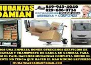 MUDANZAS Y CARGA DAMIAN 849 943 4040