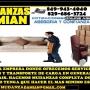 MUDANCERA Y SERVICIOS DE CARGAS ,EN MUDANZAS DAMIAN TEL 849 943 4040