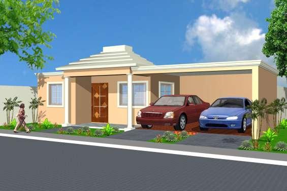 Hermosas casas en el residencial kelvin