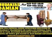 MUDANZAS DAMIAN EN SANTO DOMINGO Y TODO EL PAIS --849 943 4040