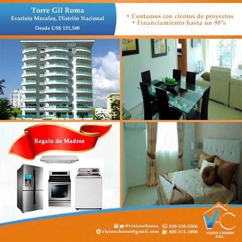 De lujo, apartamentos en exclusiva torre gil roma 32