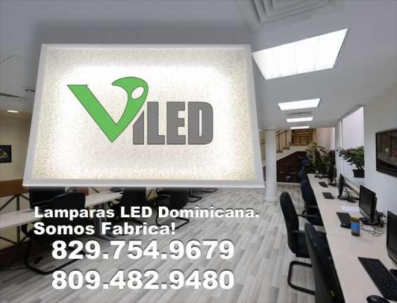 Lamparas led en dominicana. luces led