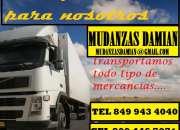MUDANZAS Y FLETES DAMIAN  849 943 4040