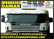 MUDANZAS Y ACARREOS  DAMIAN 849 943 4040