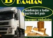 MUDANZAS DAMIAN CUBRIMOS TODO EL PAIS 849 943 4040
