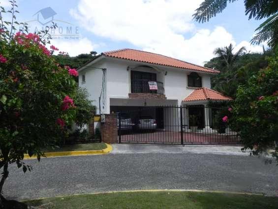 Altos de arroyo hondo iii, impresionante casa venta.