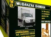 MUDANZAS PROFESIONALES  DAMIAN 849 943 4040