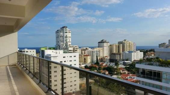 Penthouse en venta en torre de lujo en los cacicazgos vista panoramica y al mar