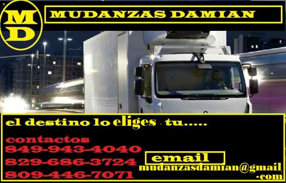 Mudanzas y servicios  camiones gigantes