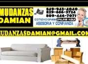 MUDANZAS CARGA Y FLETES EN MUDANZAS  DAMIAN 849 943 4040