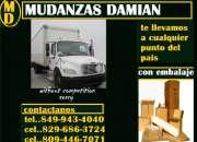 MUDANZAS Y CARGAS DAMIAN,,,849 943 4040