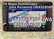 Mapa Dominicano Actualizado para GPS Stereo DNX525DAB