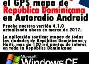 Instalar el GPS mapa de Republica Dominicana en Autoradio Android