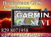 Actualizamos Garmin de la serie Nuvi con mapa Dominicano
