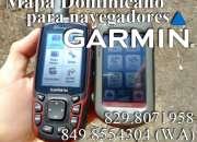 Los mapas GPS Dominicana para navegadores Garmin