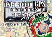 Actualizar Mapa Dominicano del radio Sony.