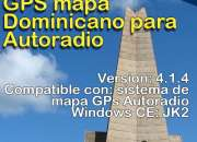 Descarga de GPS mapa Dominicano para Autoradio Windows CE