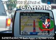 Cargar los mapas al GPS Garmin en Dominicana
