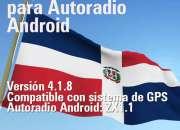 Desbloquear de GPS mapa Dominicano para Autoradio Android