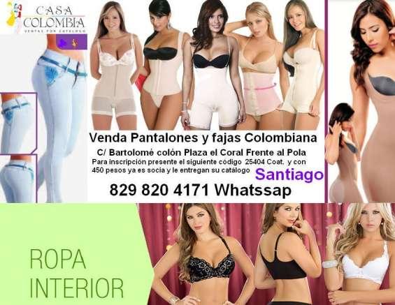 fd0d40a3fa Venda ropas colombianas por catálogo en Santiago de los Caballeros ...