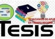 Redacción de Tesis y Elaboración de Resumen Curricular