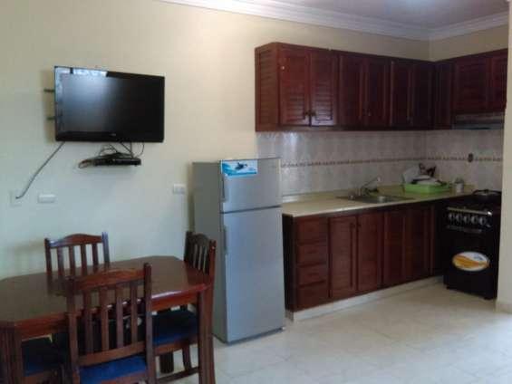 Apartamento amueblado, zona colonial, alquiler