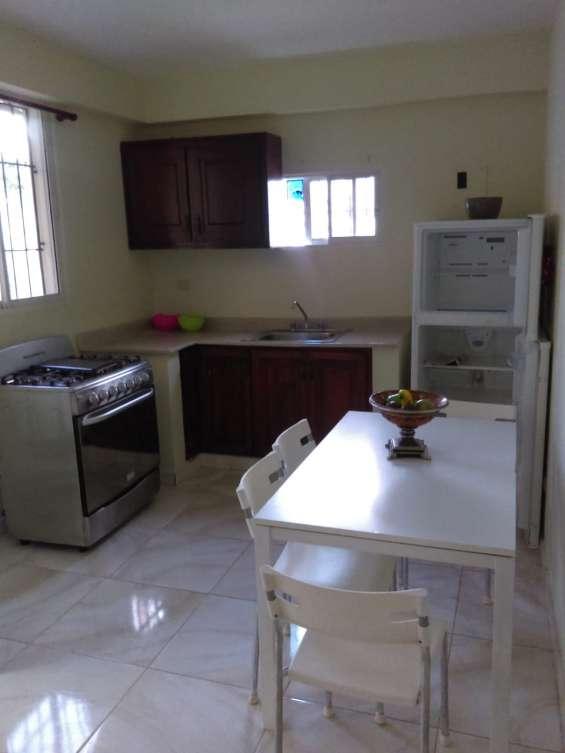 Alquiler apartamento amueblado 1 habitacion gazcue