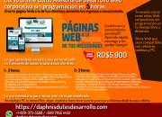 Curso de desarrollo de página Web sin programación