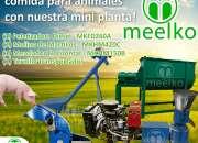 Mini Planta Meelko, MKD260A comida para cerdos