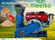 Peletizadora Diesel MKFD200A, Astilla de madera