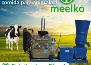 Peletizadora diésel MKFD360A para concentrados balanceados