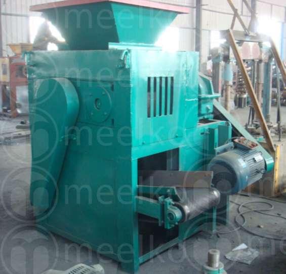 Prensa mkbc06 para hacer carbón en briquetas