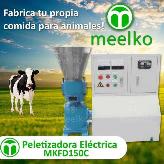 Peletizadora eléctrica mkfd150c pellets comida para animales