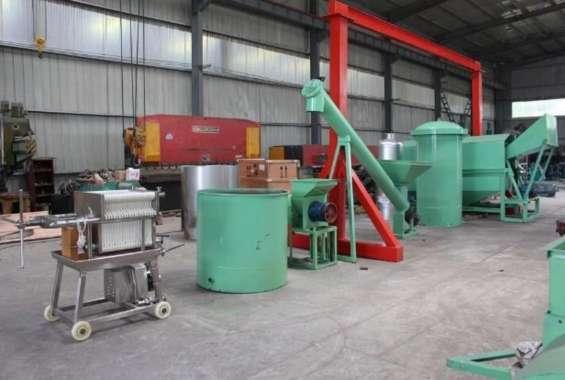 Línea de extracción de aceite de palma 8 tn día
