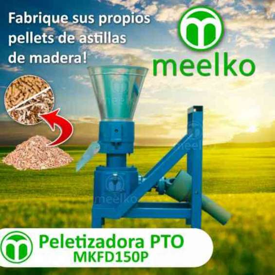 Peletizadora pto mkfd150p pellets astilla de madera
