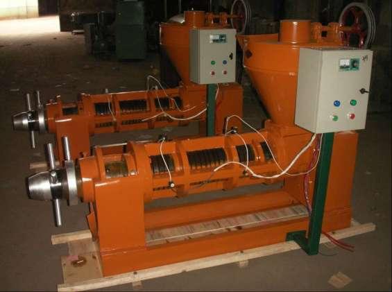 Prensa de aceite 350-500 kg/hr 18.5kw
