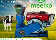 Peletizadora Diésel MKFD200A pellets de comida para animales