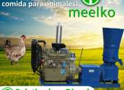Peletizadora Diésel MKFD360A pellets comida de gallina