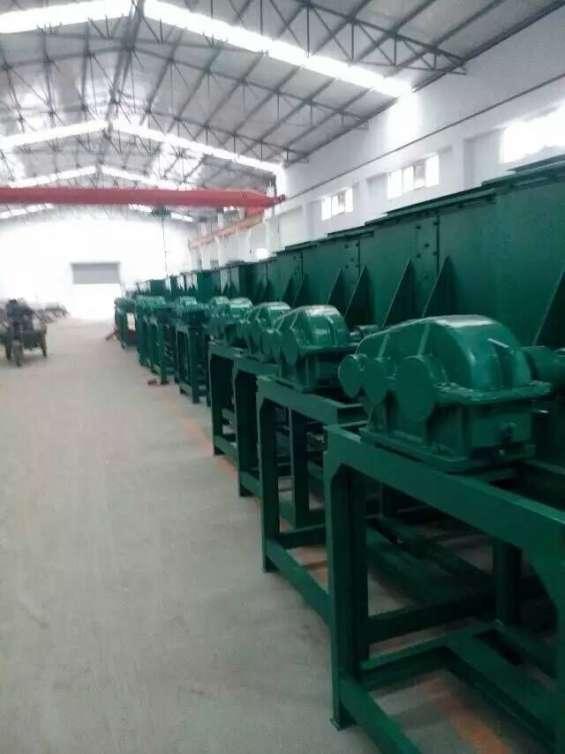 Mezcladora horizontal 500 kg por hora 7.5kw