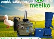 Peletizadora Diésel MKFD360A pellets comida de pato