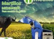 Molino de martillo MKHM420C para comida de búfalo