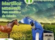 Molino de martillo MKHM420C para comida de caballo