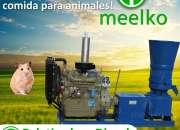 Peletizadora Diésel MKFD360A pellets comida de hámster