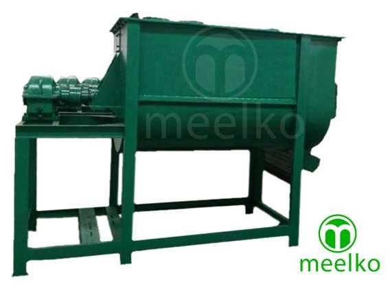Máquina mezcladora horizontal 250 kg/h 4kw