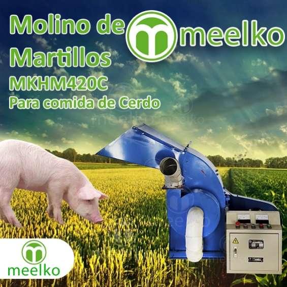 Molino de martillo mkhm420c para comida de cerdo