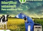 Molino de martillo MKHM420C para comida de vaca