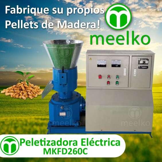 Peletizadora mkfd260c pellets de madera